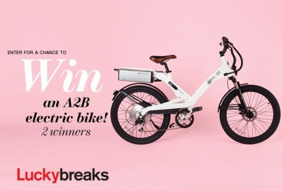 Image from Lucky Magazine website for Lucky Breaks Giveaway